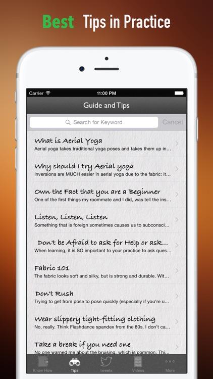 Aerial Yoga for Beginner:Guide screenshot-3