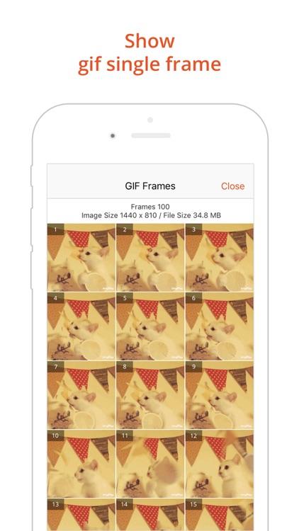 GIF Viewer Pro - GIF Album screenshot-4