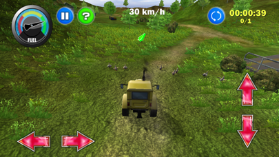 Screenshot from Tractor: More Farm Driving - Country Challenge 2.0