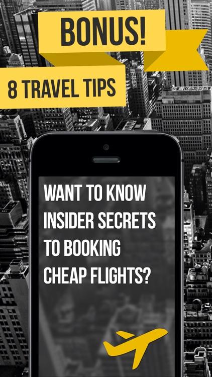 aero - Lowest Fares & Cheapest Flight Booking App screenshot-4