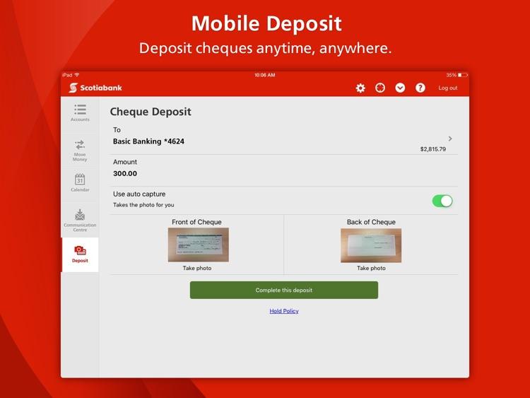 Scotiabank for iPad® screenshot-3