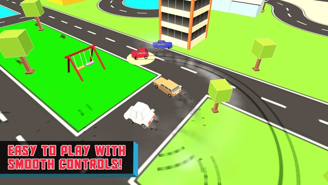 splashy car crashy road through the city on the app store