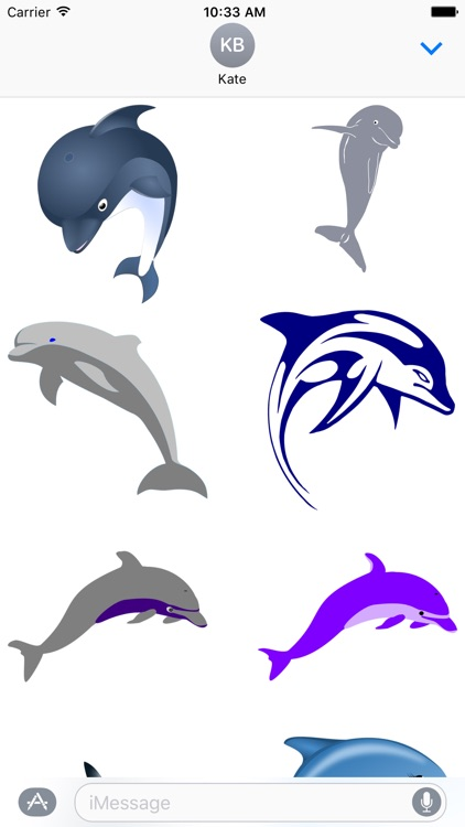 Dolphin Sticker Pack
