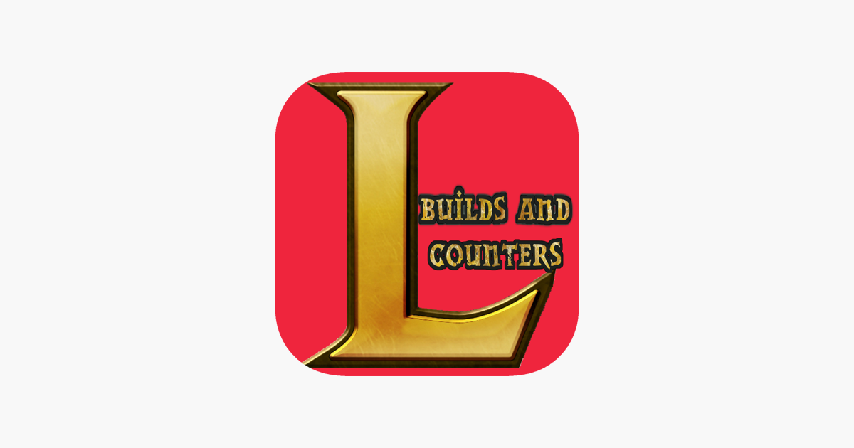 Lol Builds And Counters For League Of Legends Im App Store