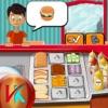 Burger Shop Make Yummy Burger