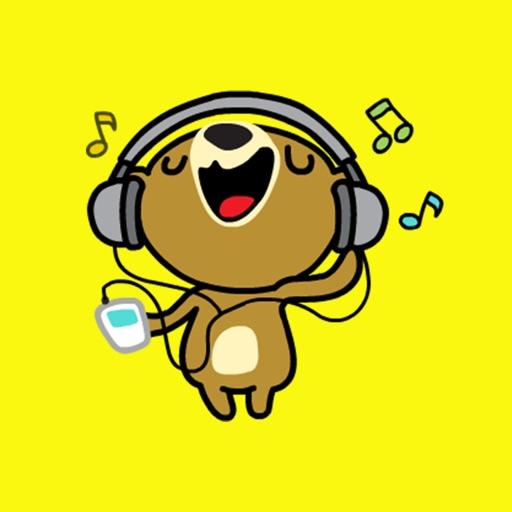 Miya the Bear app logo
