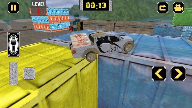 Cargo Transport Truck Agent 3D screenshot-3