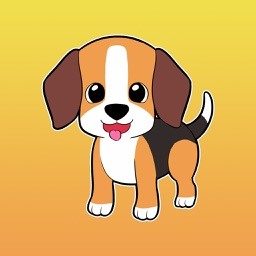Mario the Beagle - Stickers