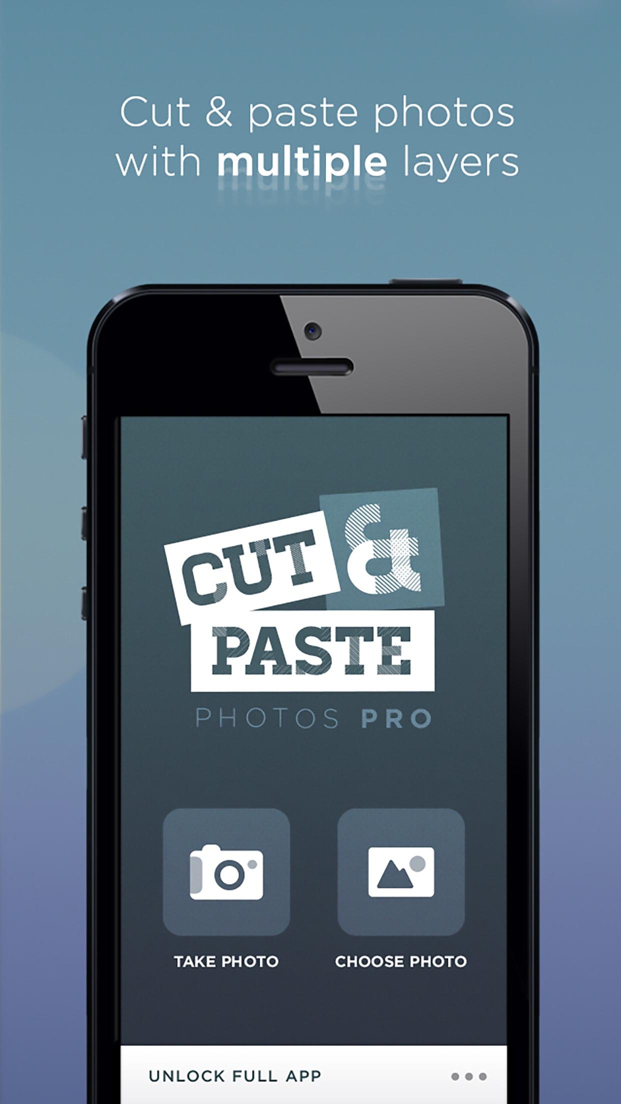 Cut Paste Photos Pro - Edit Screenshot