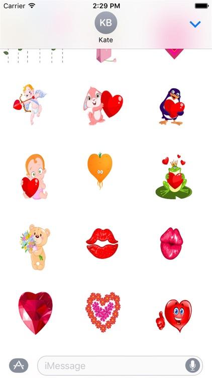 I Love You Sticker Pack
