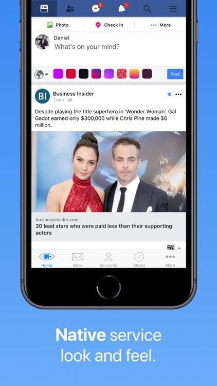 IM+ Pro for Facebook, Telegram screenshot-3