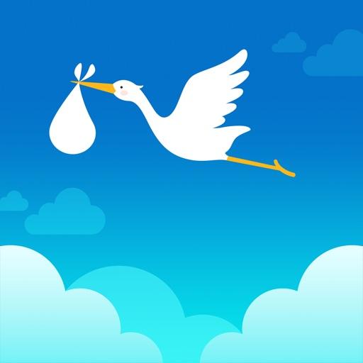 コウノトリ:生理日・排卵日予測で妊活を応援。基礎体温・グラフ