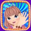 画出美丽的指甲:海绵的小宝宝乐园,魔法的女孩爱化妆游戏
