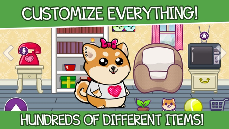 Shibo Dog-Virtual Pet Minigame screenshot-4