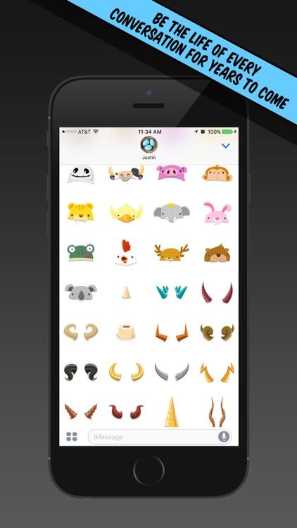 Hat Stickers screenshot-3