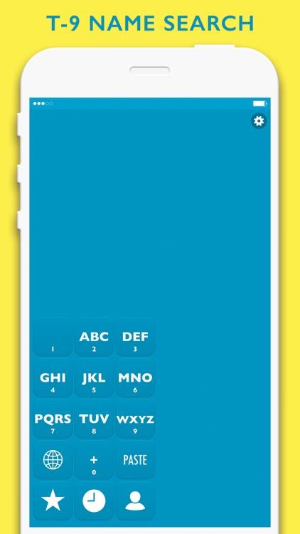 HiveDialer - customizable one-handed dialer screenshot-3