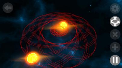 Galaxy Space Simulator 3D Pro screenshot one