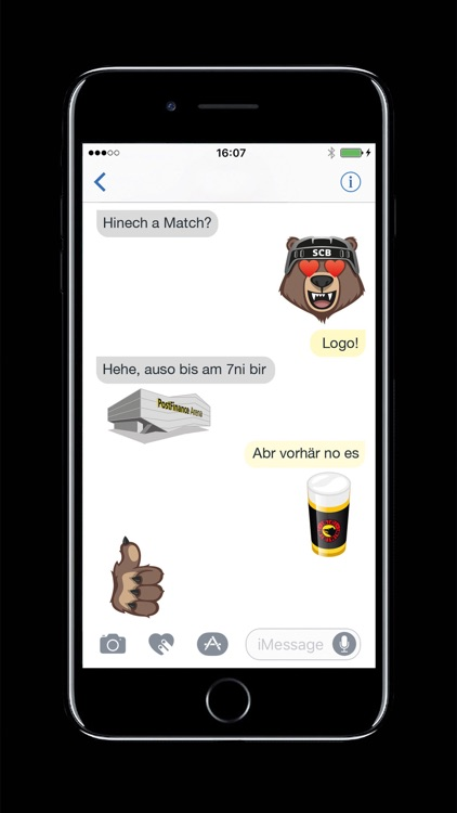 Bärmoji-Sticker - SC Bern screenshot-2