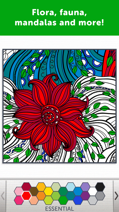 Adult Coloring Book - Coloring Book for Adultsのおすすめ画像3