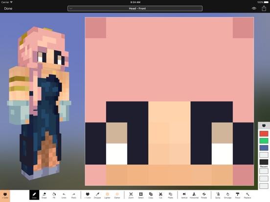 Screenshot #4 pour Minecraft: Skin Studio
