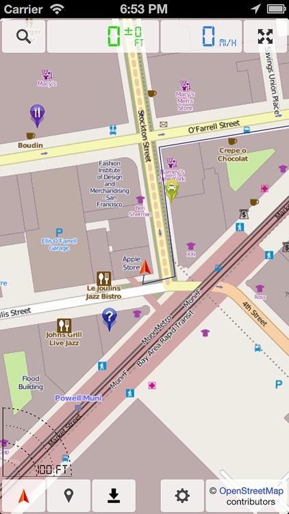 Offline Map & GPS Navigator