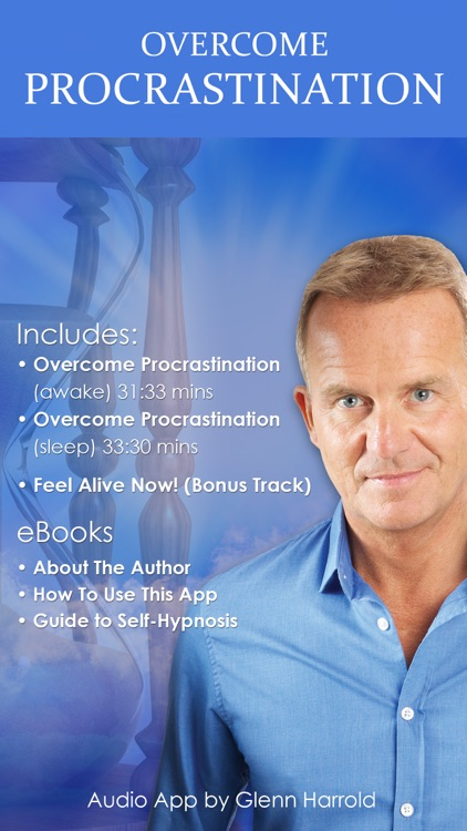 Overcome Procrastination Hypnosis by Glenn Harrold screenshot-0