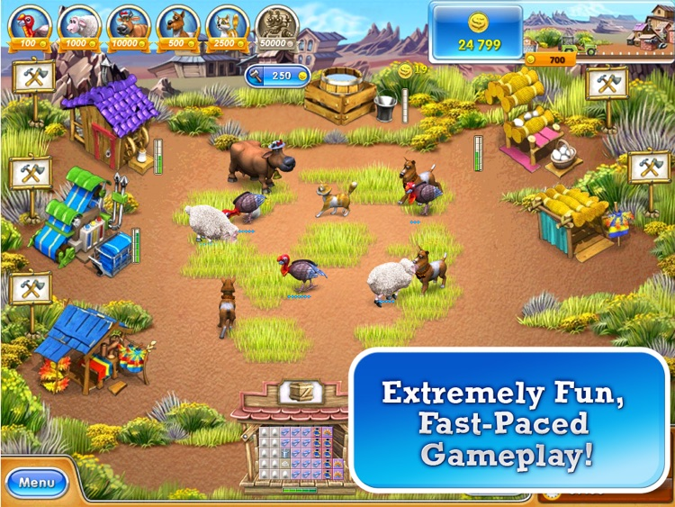 Farm Frenzy 3 HD. Farming game screenshot-3
