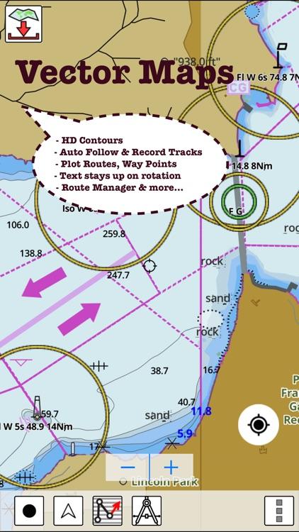 i-Boating:Italy Marine/Nautical Charts&fishing Map screenshot-4