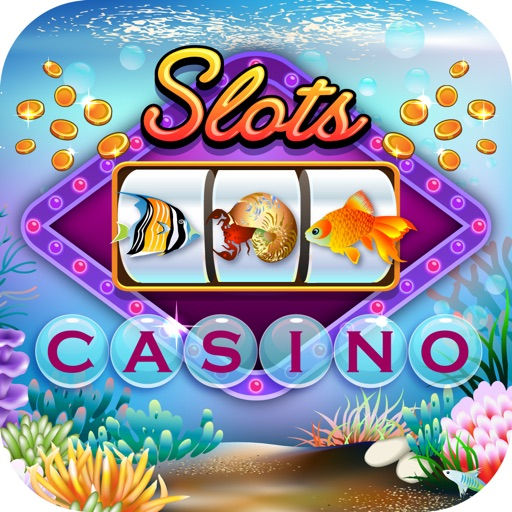Underwater World Slot Machine - 777 Lucky Atlantis