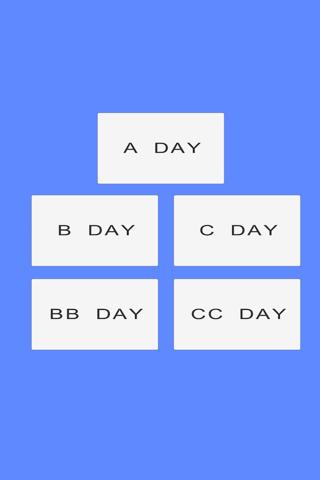 CJ Schedule - náhled