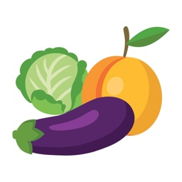 Fruits and Veggies for Stickers