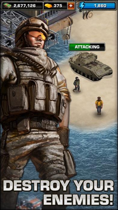Modern War iPhone