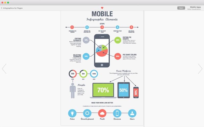 Infographics Maker review screenshots