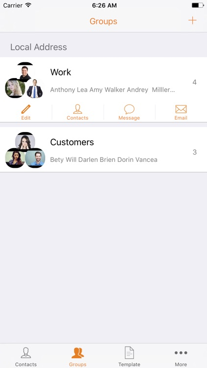 Simple Contacts Manager - Easy Contacts for iPhone