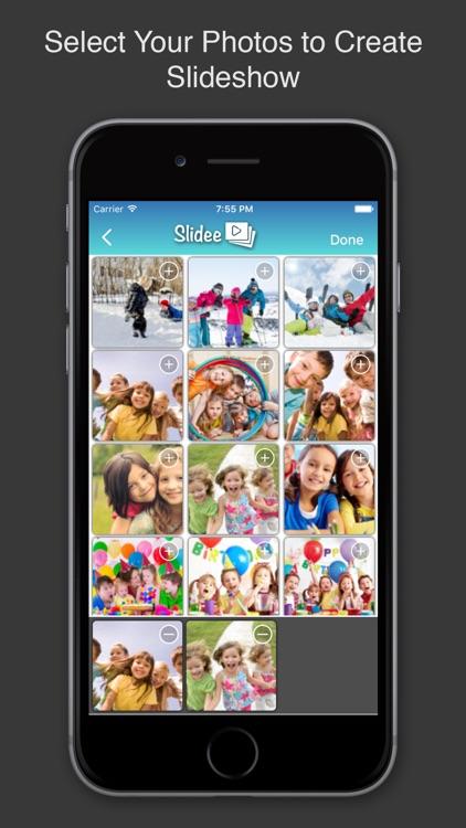 Photo Slideshow Maker w/ Music screenshot-4