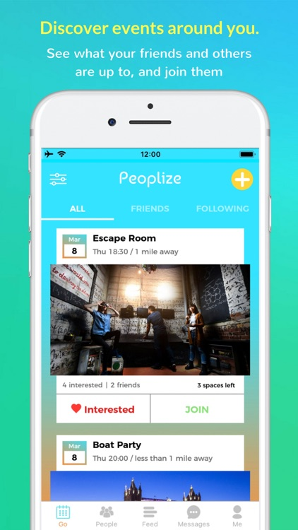 Peoplize - Meet in Real Life