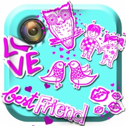 Cute Stickers for Photos – Best Pic Studio Editor