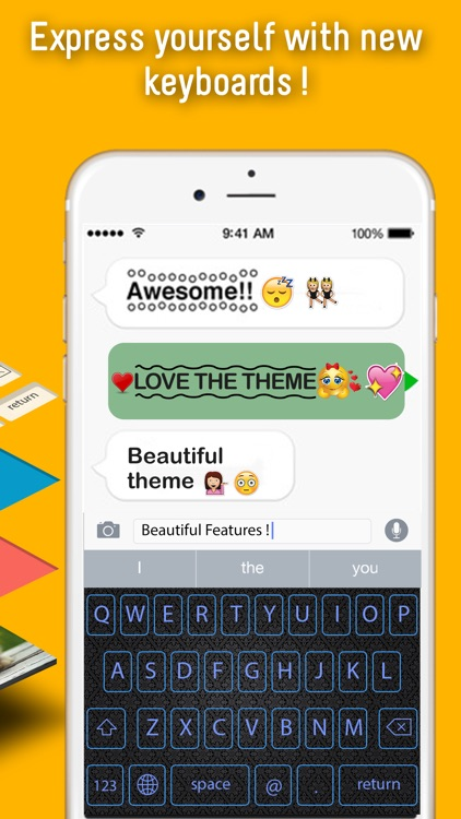 GIF Color Keyboard | Brilliant Themes and Predictive Typing screenshot-3