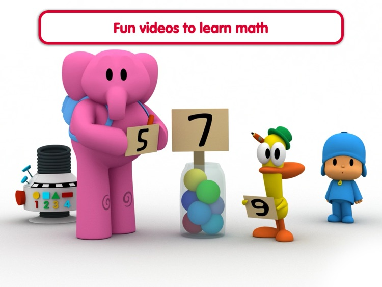 Pocoyo Playset - Number Party screenshot-3