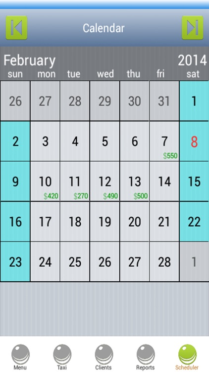 Taxi Scheduling Software screenshot-3