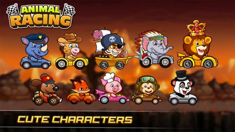 Super Crazy Racing Go - Animals jump and run
