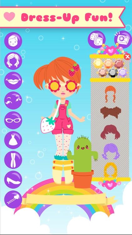 Lil' Cuties Dress Up Game for Girls - Street Fashion Style screenshot-0