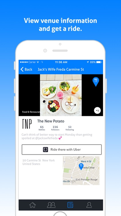 Rekky - Discover new places through friends and tastemakers screenshot-3