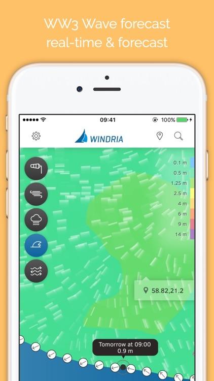 Windria - Sweden (high-res marine forecast)
