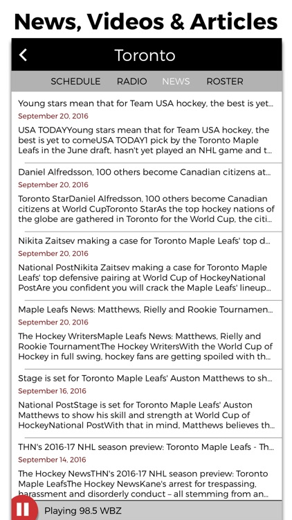Hockey Radio screenshot-3