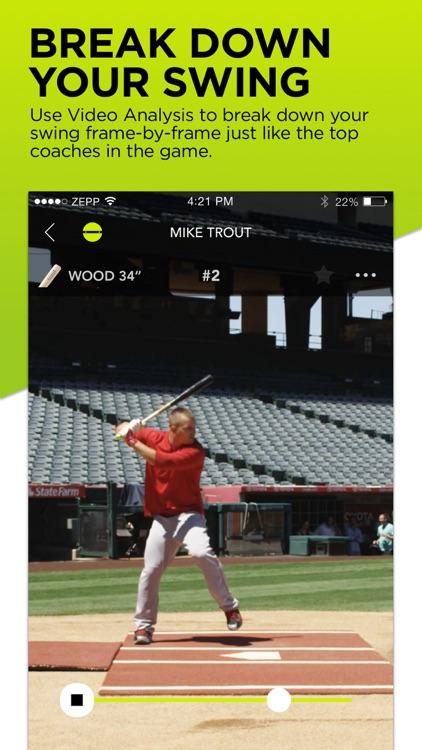 Zepp Baseball & Softball Swing Analyzer screenshot-3