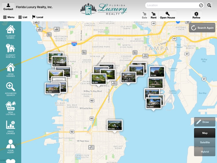 Florida Luxury Realty Home Search For Ipad By Scott Barrett