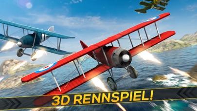 Kostenlose Flugzeug Krieg Rennen Spiel für KindernScreenshot von 1