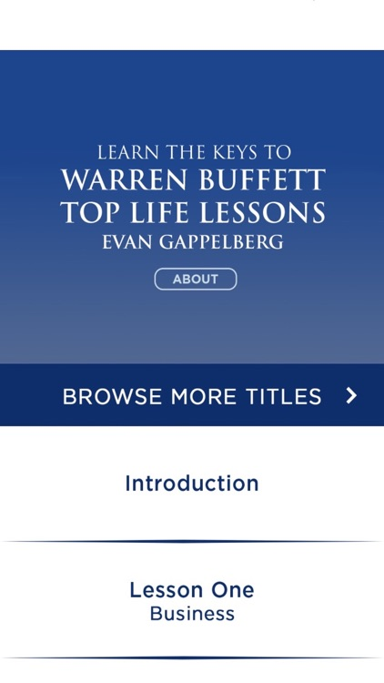 Warren Buffett: Top Life Lessons Meditations Audio