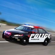 警车驾驶学校停车场游戏